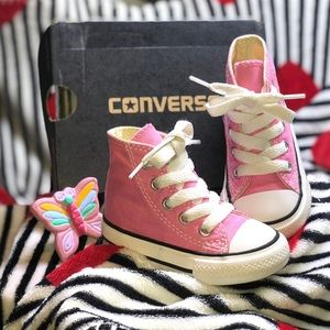 Converse High Top Shoes Toddler Size 4